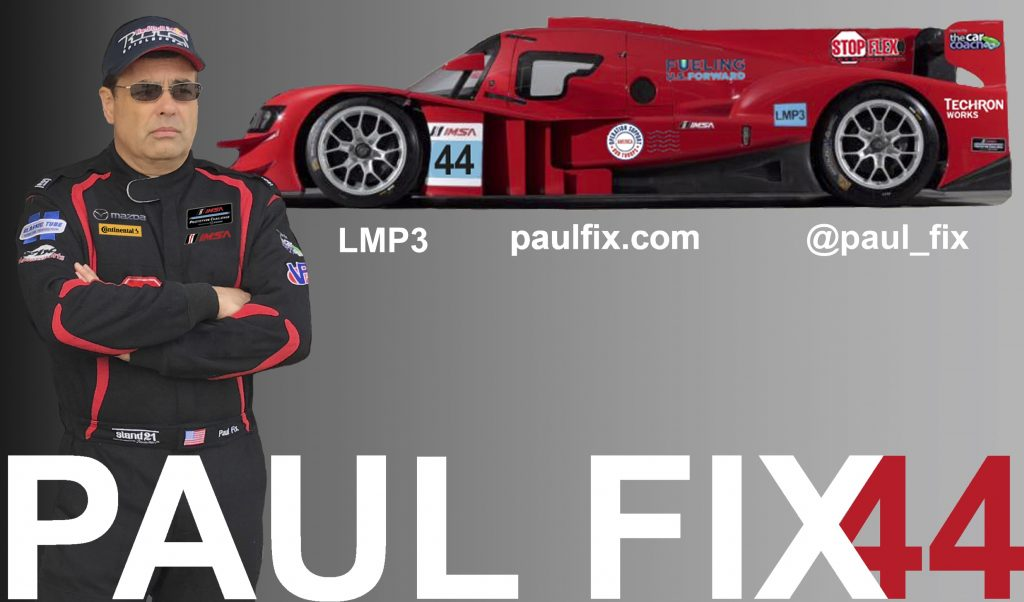 Racecar Driver Paul Fix #44